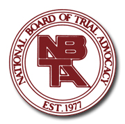 Civil Trial Specialist: National Board of Trial Advocacy
