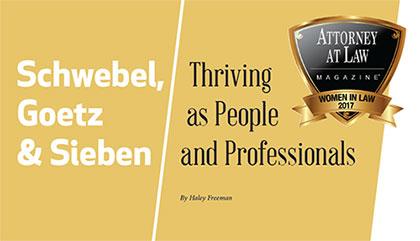 Schwebel, Goetz & Sieben - Thriving as People and Professionals